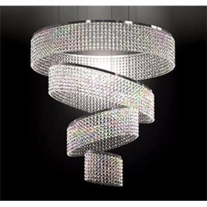 Swirl fixture shelley starr interior design windfall swirl crystal chandelier aloadofball Gallery